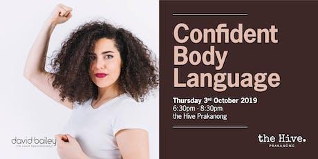 Confident Body Language tickets