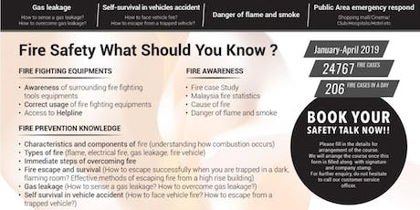 FREE Fire Safety & Prevention - Safety Talk tickets