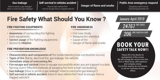 FREE Fire Safety & Prevention - Safety Talk