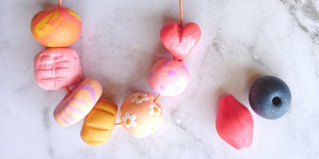 KIDS - Polymer Clay Beaded Necklace Workshop tickets