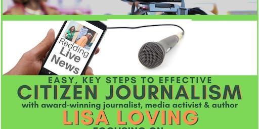 Citizen Journalism: Easy Key Steps