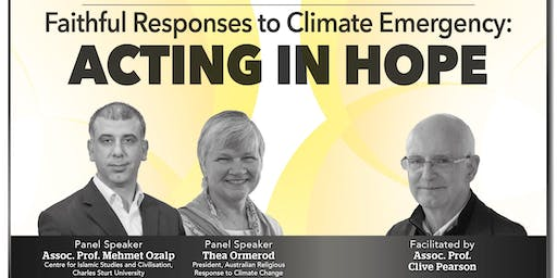 Faithful Responses to Climate Emergency: Acting In Hope