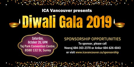 Diwali 2019 Celebrations by ICA Vancouver tickets