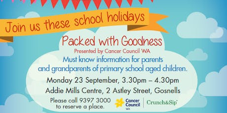 Packed with Goodness Nutrition Information Session tickets