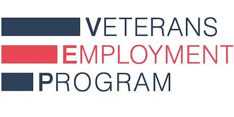 Veterans Employment Program Public Launch tickets