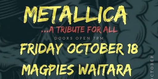 Metallica & Iron Maiden Tributes @ Magpies