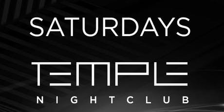 Temple Saturdays tickets
