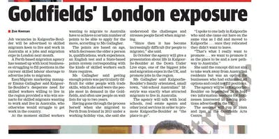 DAMA & Goldfields Labour Shortages Information Session