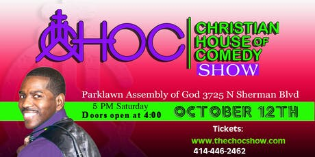 CHOC Christian House Of Comedy Show tickets