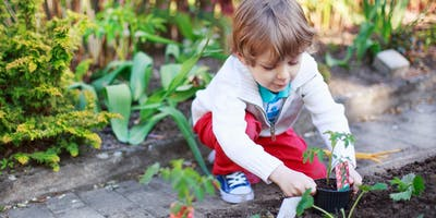 Sensory Garden & Nature Hunt with Barefoot Beginners