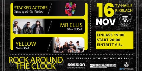 Rock Around The Clock Festival by Mr Ellis Tickets