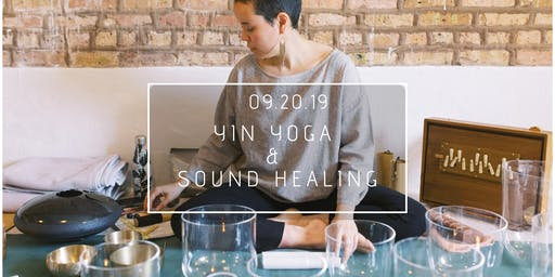 Yin yoga and Sound Bath