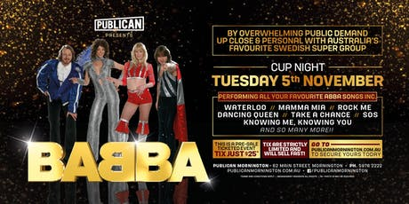 Babba LIVE at Publican, Mornington! tickets