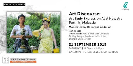 ART DISCOURSE: Body Expression As A New Art Form In Malaysia tickets