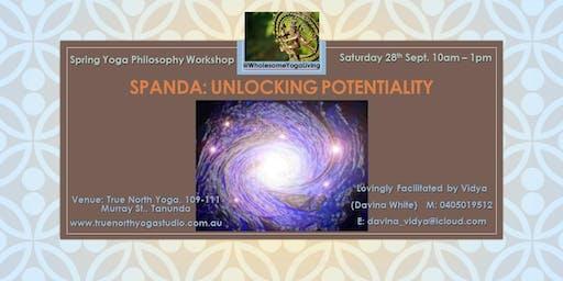 Essence of Yoga (Yoga Philosophy Workshop Series): Workshop 1 'Spanda'