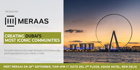 Meet with Meraas, Dubai: An exclusive opportunity from Real Estate Brokers. tickets