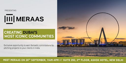 Meet with Meraas, Dubai: An exclusive opportunity from Real Estate Brokers.
