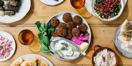 Authentic Middle Eastern Cooking Class with Free to Feed tickets