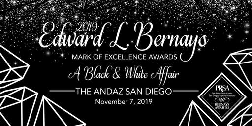 2019 Edward L. Bernays Mark of Excellence Awards Ceremony: A Black & White Affair