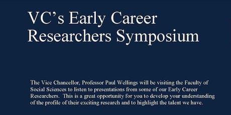 VC's ECR Symposium - Social Sciences #3 tickets