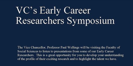 VC's ECR Symposium - Social Sciences #3