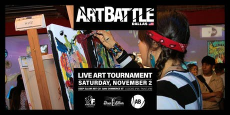 Art Battle Dallas - November 2, 2019 tickets