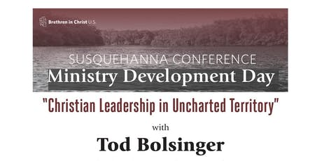 Christian Leadership in Uncharted Territory tickets
