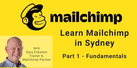 Learn Mailchimp in Sydney (Part 1 : Fundamentals) tickets