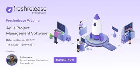 [Exclusive FREE Webinar] Freshrelease - Agile Project Management Software tickets