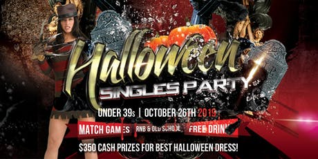 Halloween Singles Party | Under 39s | October tickets