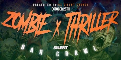 Zombie Thriller Silent Bar Crawl tickets