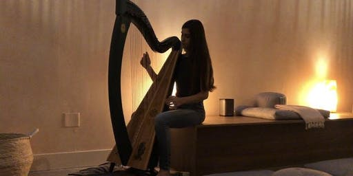 CULTIVATE Harmony: Sound Healing with LIVE HARP