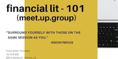 Financial Lit - 101
