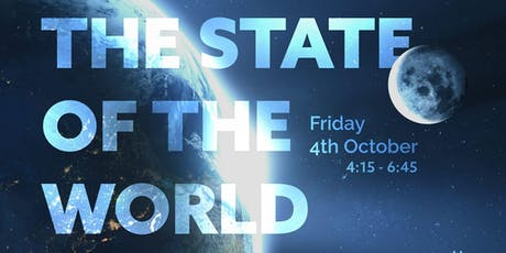 The State of the World: where are we headed & what can we do? tickets