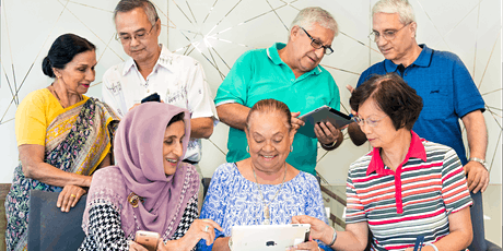 Tech Savvy Seniors - Introduction to iPads (Mandarin) @ The Connection tickets