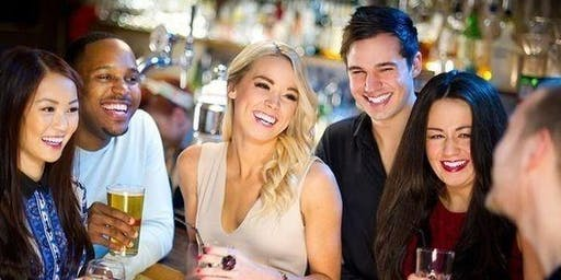 Speed ​​Friending: ¡Conoce damas y caballeros rápidamente! (FREE Drink) BAR