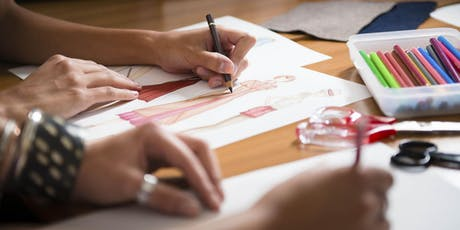 Fashion Illustration Workshop @ Leeston Library  tickets
