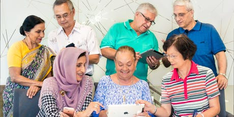 Tech Savvy Seniors - Intro to Social Media (Mandarin) @ The Connection tickets