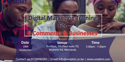 Free Digital Marketing Training For Ecommerce & Businesses