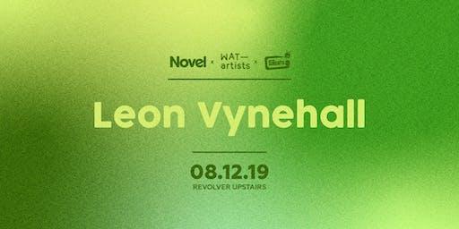Novel, WAT artists & Revolver Sundays presents Leon Vynehall