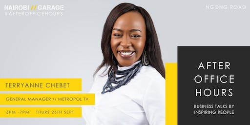 After Office Hours with Terryanne Chebet