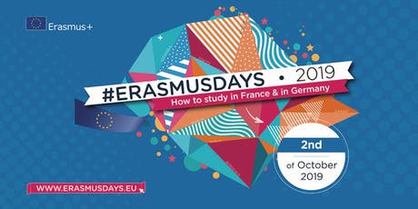 Erasmus Days - How  to study in France & in Germany tickets