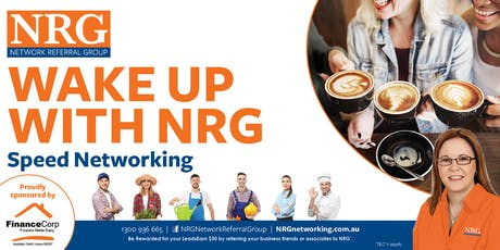 Wake Up With NRG - Speed Networking tickets