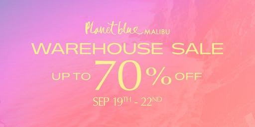 Planet Blue Warehouse Sale