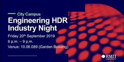 Engineering HDR Industry Night - 2019-City Campus