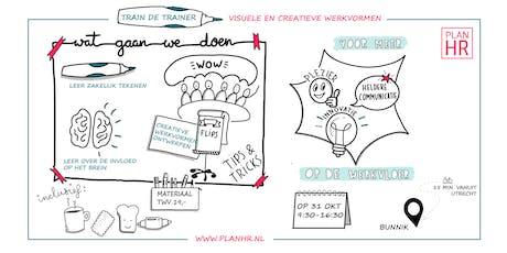 Train de trainer: 'Visuele en creatieve werkvormen voor meer werkgeluk en innovatie'. tickets