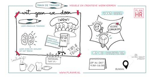 Train de trainer: 'Visuele en creatieve werkvormen voor meer werkgeluk en innovatie'.