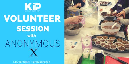 KiP volunteering session with Anonymous X!