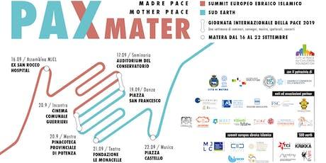 Pax Mater - Giornata internazionale della Pace 2019 biglietti