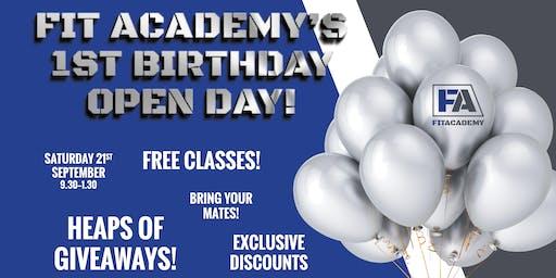 FIT Academy Open Day / 1st Birthday Celebration